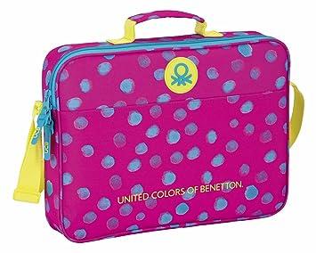 acheter populaire ae640 77588 Safta 611750385 Benetton Dots Cartable extrascolaire à pois ...