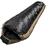 North Star Sports Sub-Zero black & Coyote Minus 15 W/Comp Stuff Sack Sleeping Bag