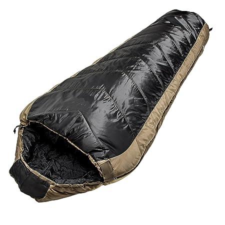 North Star Sports Sub-Zero Black Coyote Minus 15 W Comp Stuff Sack Sleeping Bag