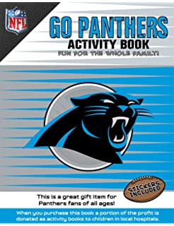e53c9e474 In The Sports Zone NFL Carolina Panthers Activity Book Blue White One Size