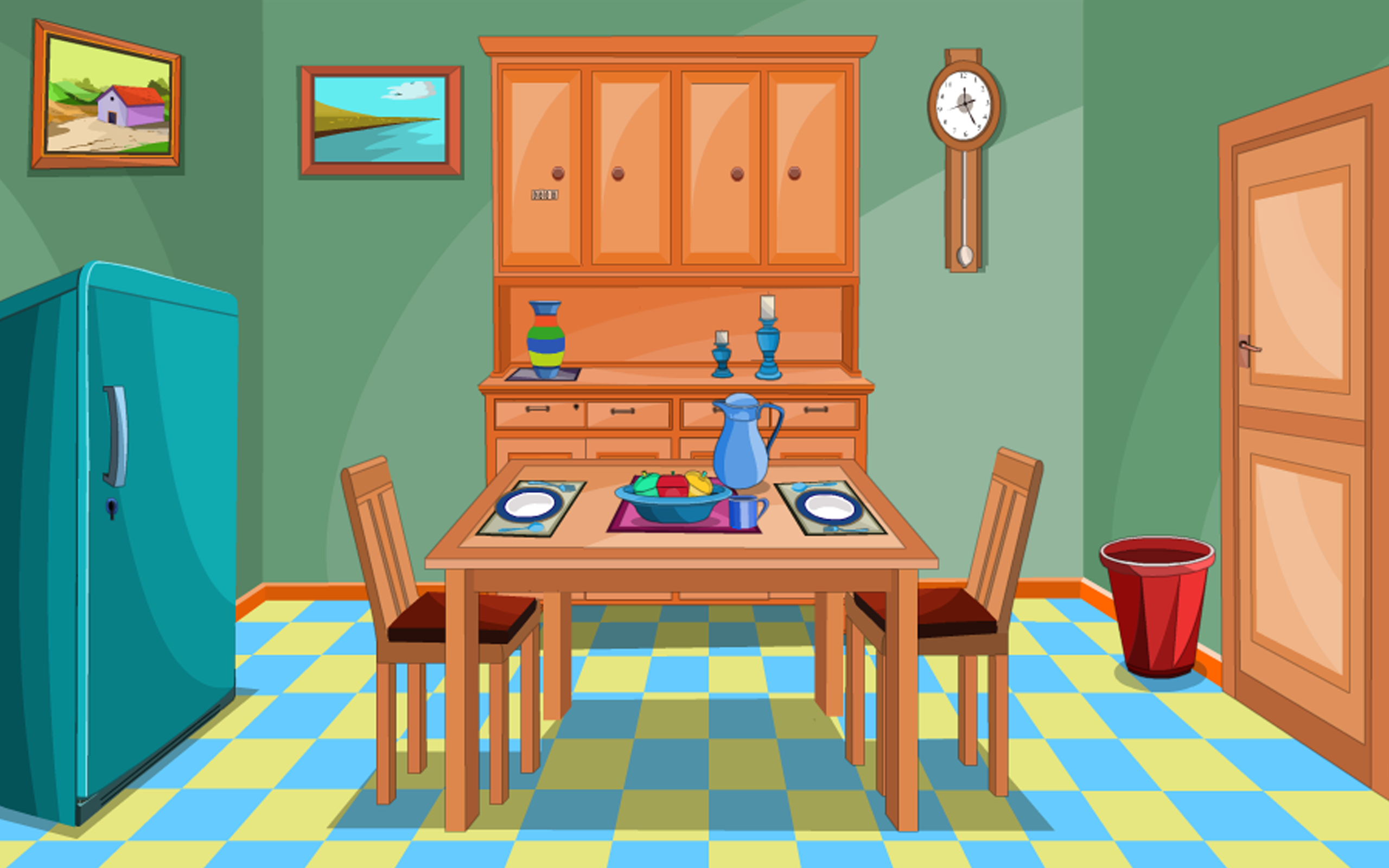 Dining Room Cartoon Images