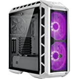 Cooler Master MasterCase H500P Mesh White ATX Mid-Tower Case with 2 x 200mm RGB Fans Tempered Glass Side Panel Cases (MCM-H500P-WGNN-S00)