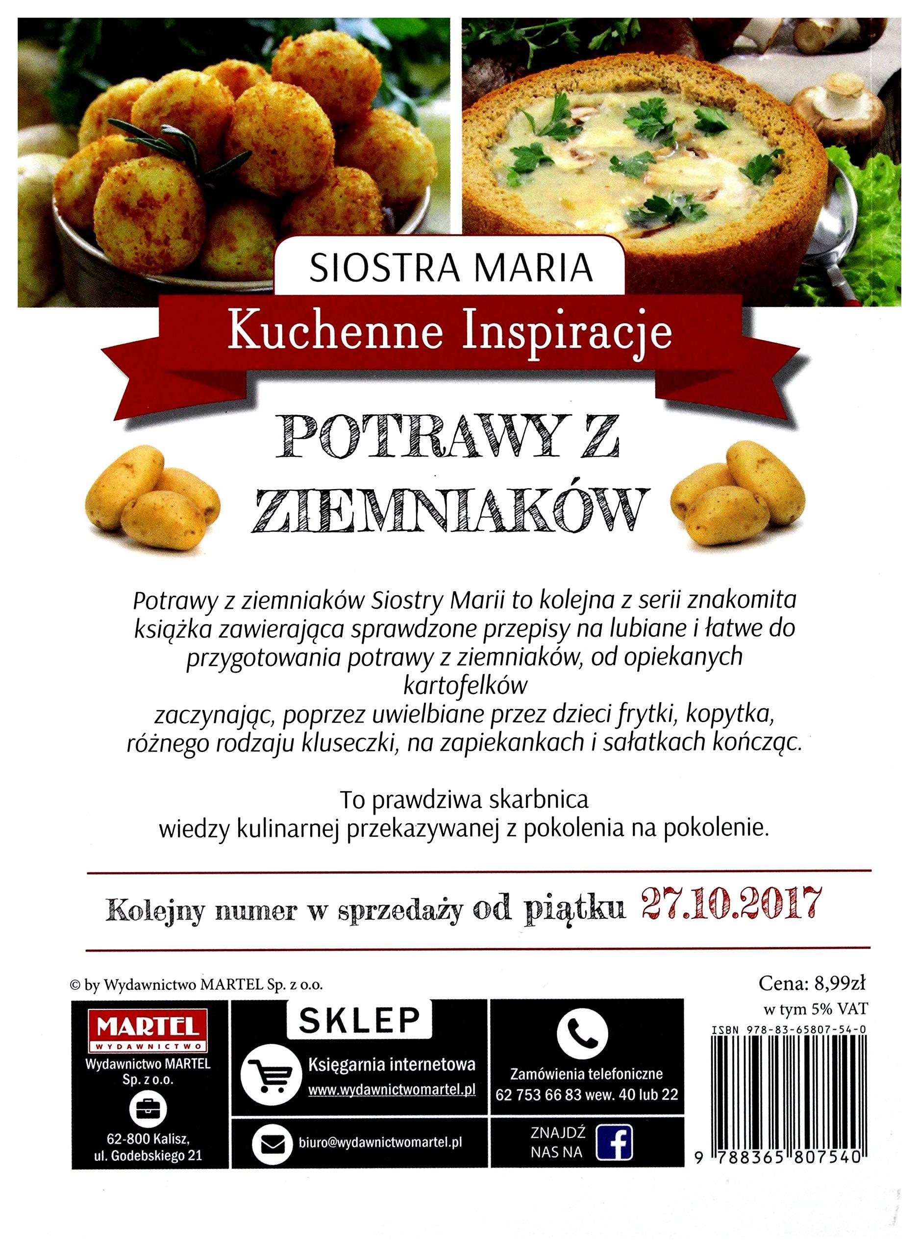 Kuchenne Inspiracje Potrawy Z Ziemniakălw Siostra Maria