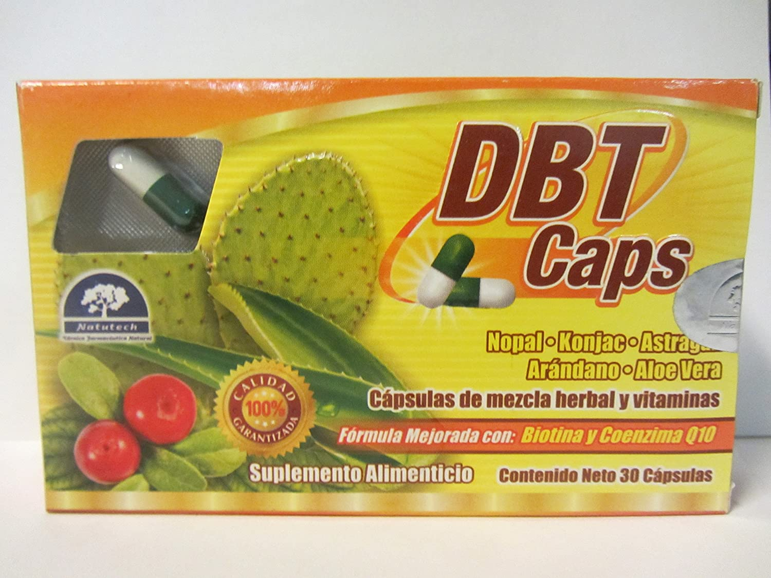 Amazon.com: DBT CAPS Helps reduce weight, regulate your digestive system, aid in treating ulcers, colitis, gastritis and constipation.