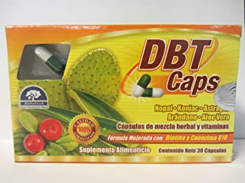 Amazon.com: DBT CAPS Helps reduce weight, regulate your digestive ...