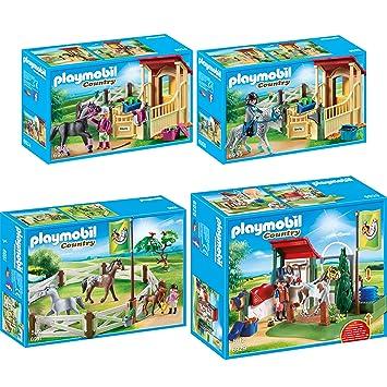 Playmobil Country 6934 Pferdebox Araber Playmobil