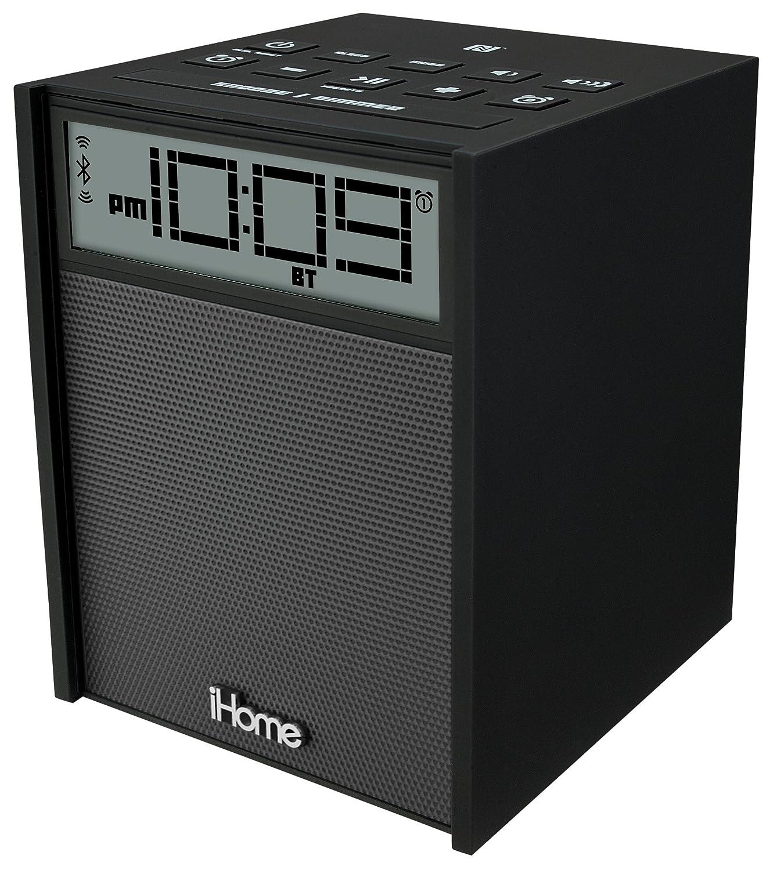 IBN180BC Bluetoothアラーム/FMクロックラジオ iHome社 Black【並行輸入】 B00JFF9NV8
