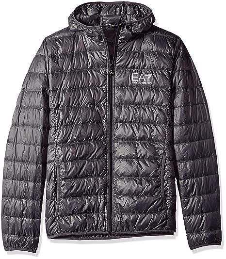 9efe2114 Emporio Armani Men's Train Core Down Hooded Jacket