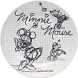 Disney Sketchbook Minnie Salad Plate, Set of 4