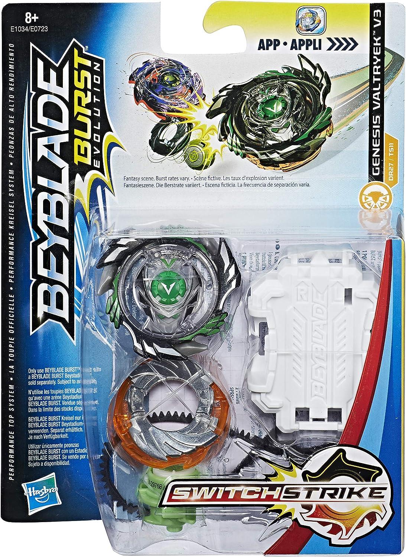 Hasbro Beyblade Burst E1034EL2 Switch Strike Starter Pack Genesis ...