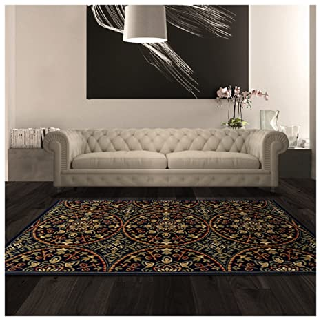 Amazoncom Superior Fancy Medallion Collection 4 X 6 Area Rug