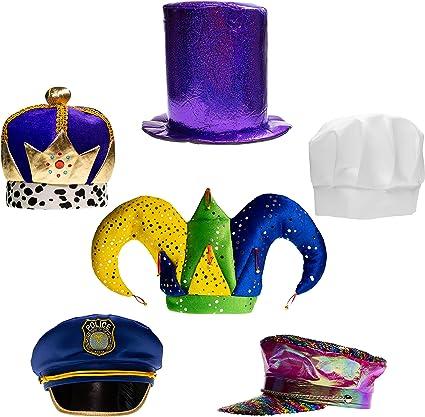 Amazon.com: Little Seahorse - Juego de 6 sombreros de fiesta ...
