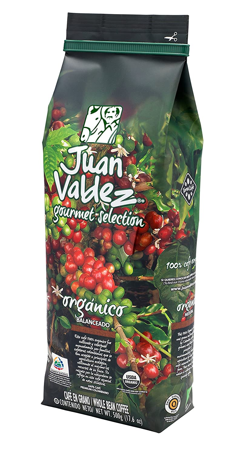 JUAN VALDEZ Organic Colombian Fairtrade Coffee | Café ...