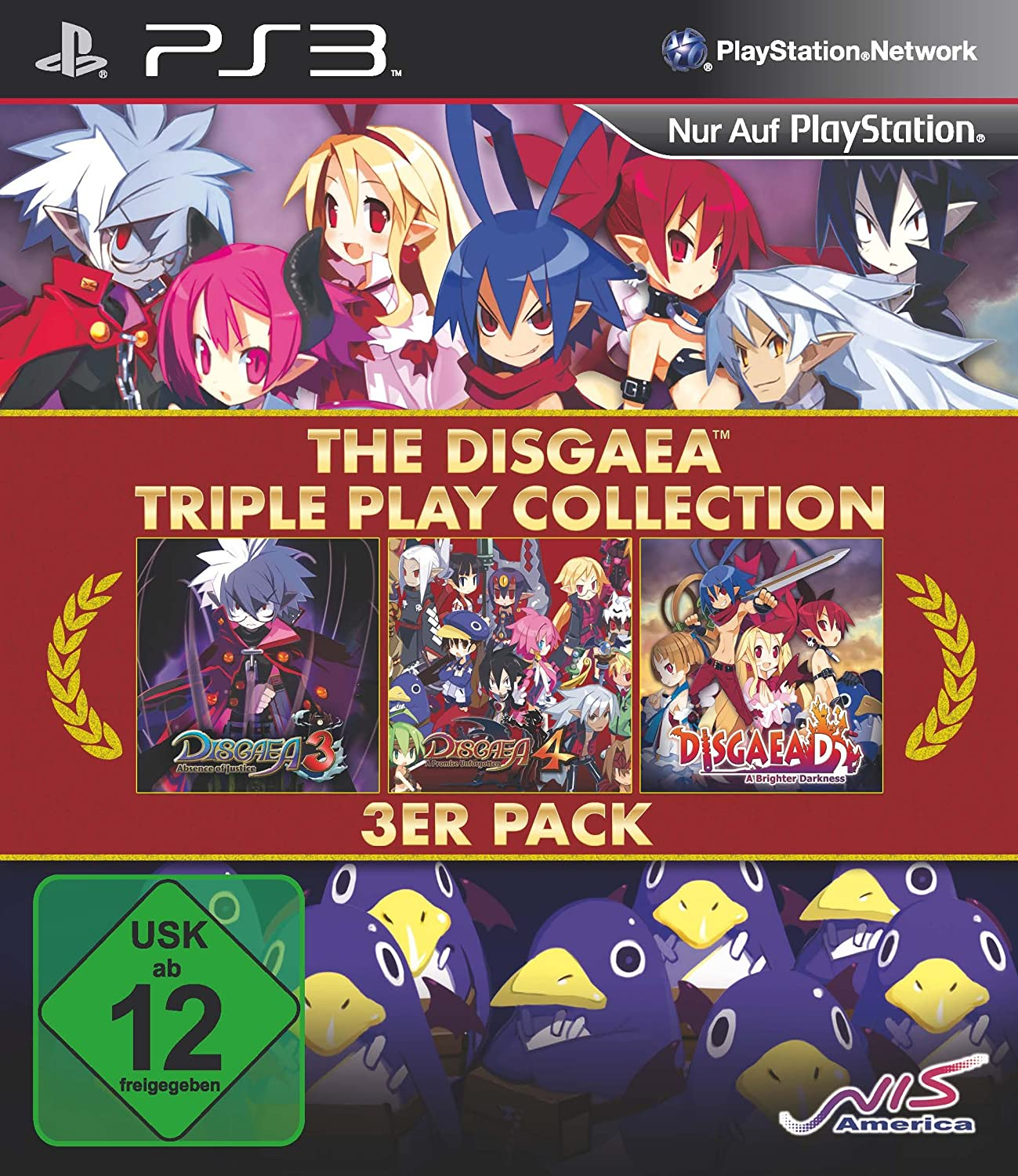 Disgaea Triple Play Collection