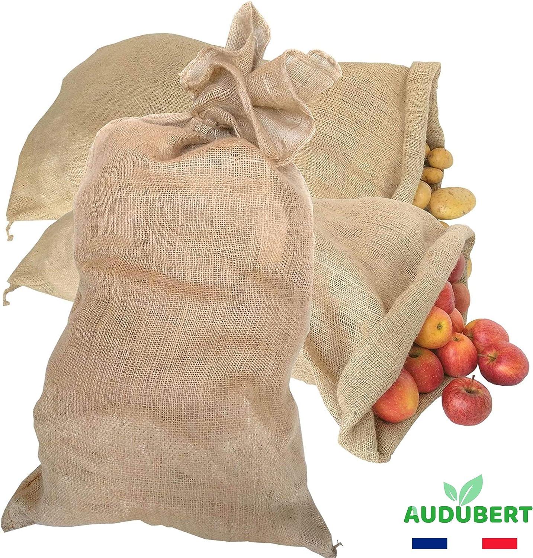 Bolsas en tela de yute | Almacenamiento y conservación de patatas ...