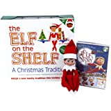 The Elf on the Shelf A Christmas Tradition (Blue-Eyed Girl) with DVD