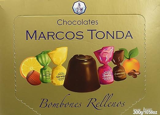 Chocolates Marcos Tonda Estuche Regalo Bombones Chocolate ...