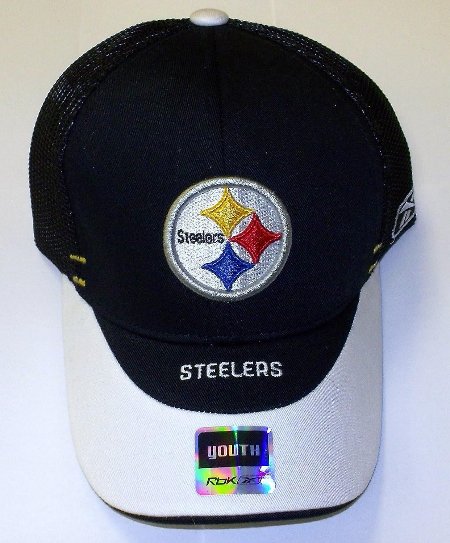 5de3440e7 Amazon.com : Pittsburgh Steelers Player Pre Season Flex Reebok Hat ...
