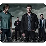SUPERNATURAL - COMPUTER MOUSE PAD - 10 x 8 - THICK NON SLIP RUBBER BOTTOM