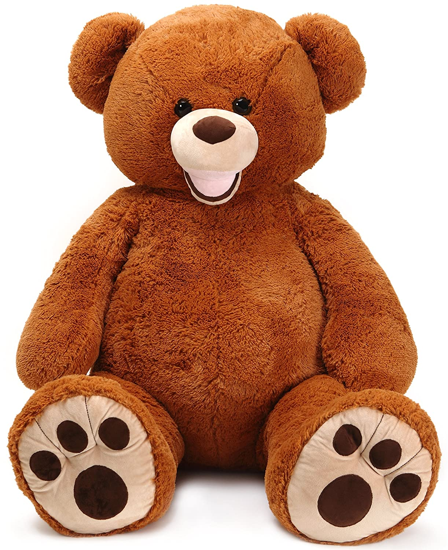 Amazon.com: VIAHART Moochie The Bear | 5 Foot (60 Inch) Stuffed Animal Jumbo Big Lifesize Huge Giant Large Plush Teddy Shipping from Texas by Tiger Tale