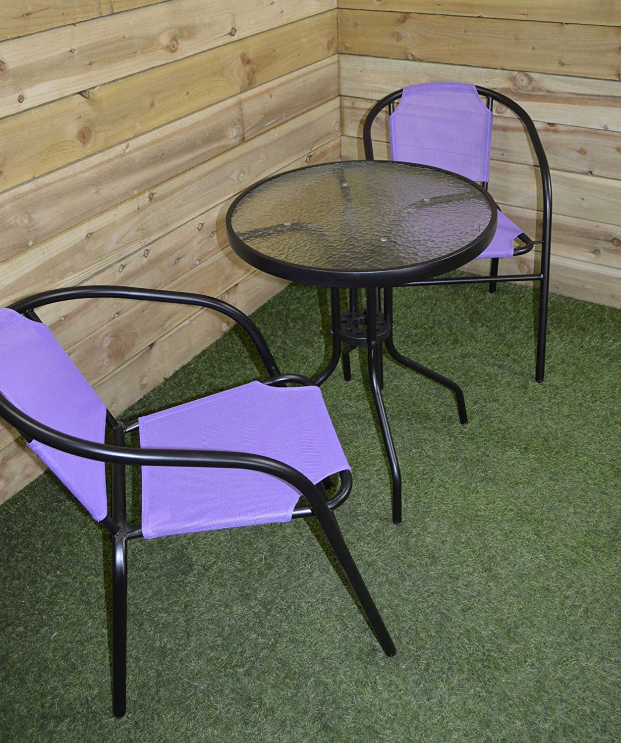 Supagarden Bistro Stacking Set Purple Mini Elettrodomestici