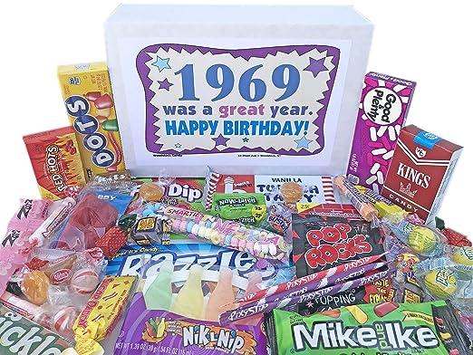 Woodstock Candy ~ 1969 50th cumpleaños caja de regalo ...