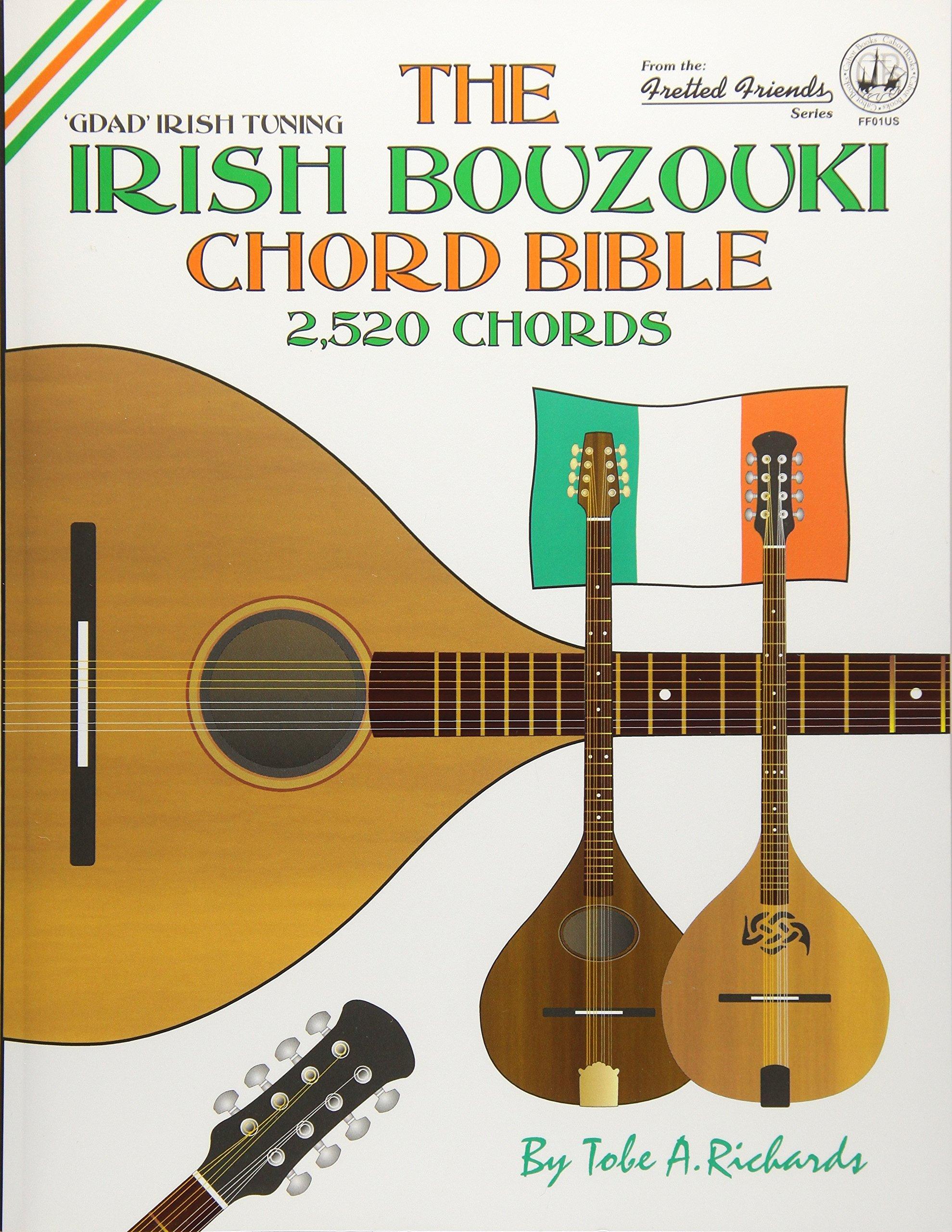 Amazon The Irish Bouzouki Chord Bible Gdad Irish Tuning 2520
