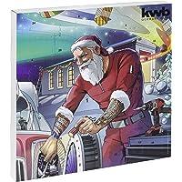 Kwb 370139 Calendrier de l'Avent édition 2019 Le calendrier de Noël original pour homme rempli d'outils de qualité avec sac et carte graphique