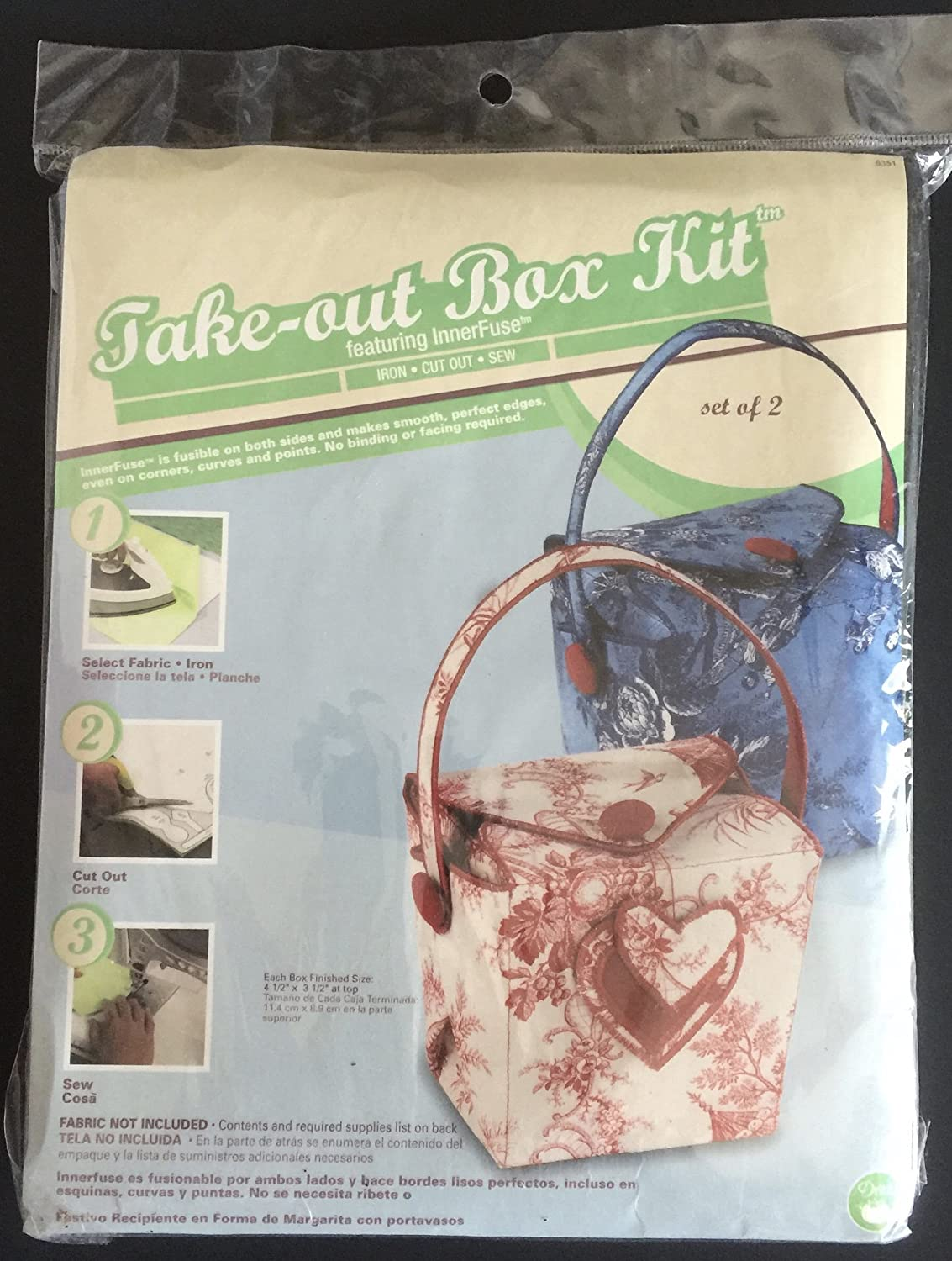 Amazon.com: Take Out Box Kit Featuring InnerFuse