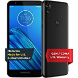 Moto E6 | Unlocked | Made for US by Motorola | 2/16GB | 13MP Camera | Blue