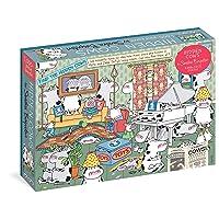 Sandra Boynton: Hidden Cows 1,000-Piece Puzzle (Workman Puzzles)