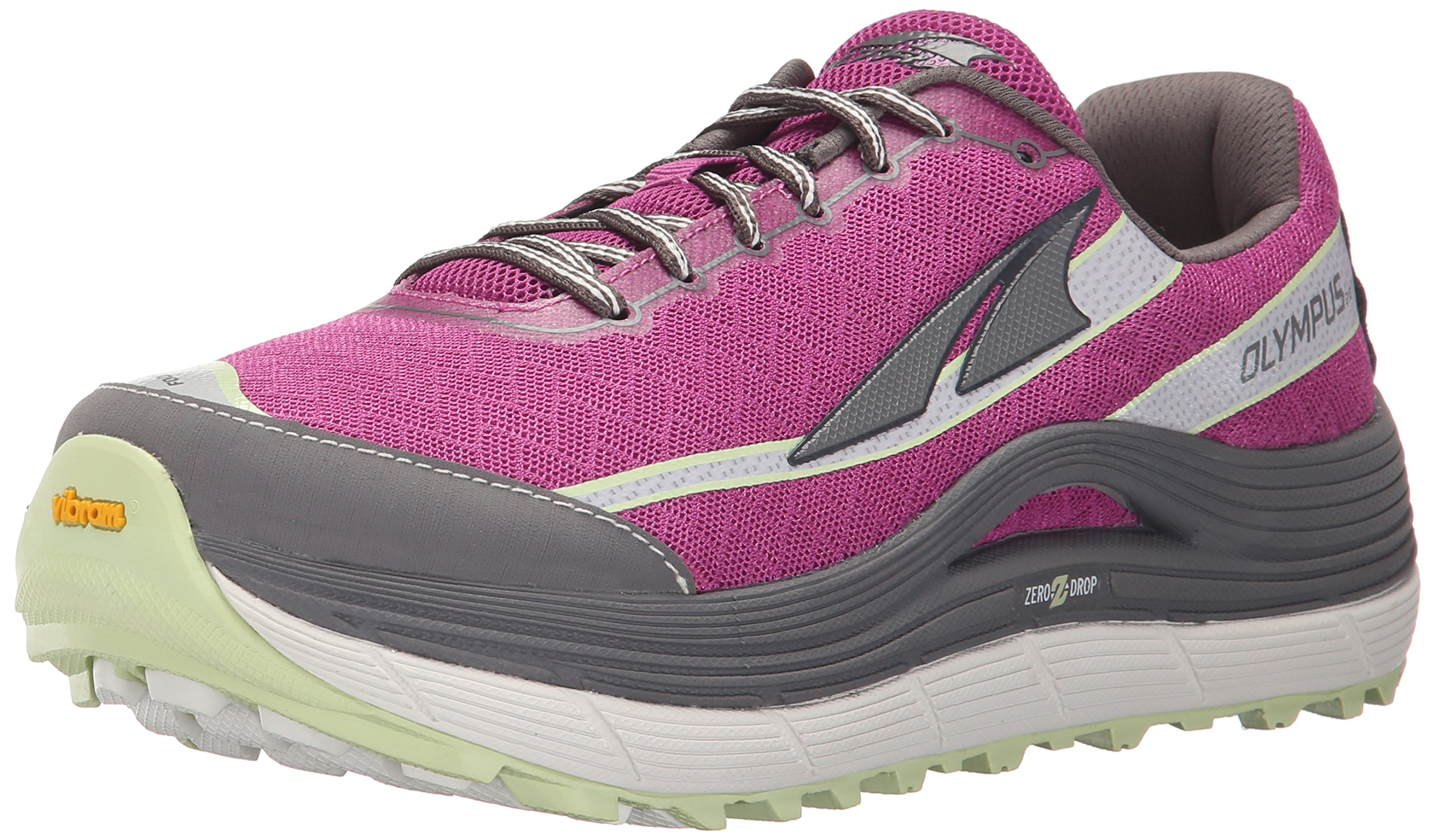 Altra Women's Olympus 2 Trail Running Shoe, Orchid/Gray, 8.5 M US