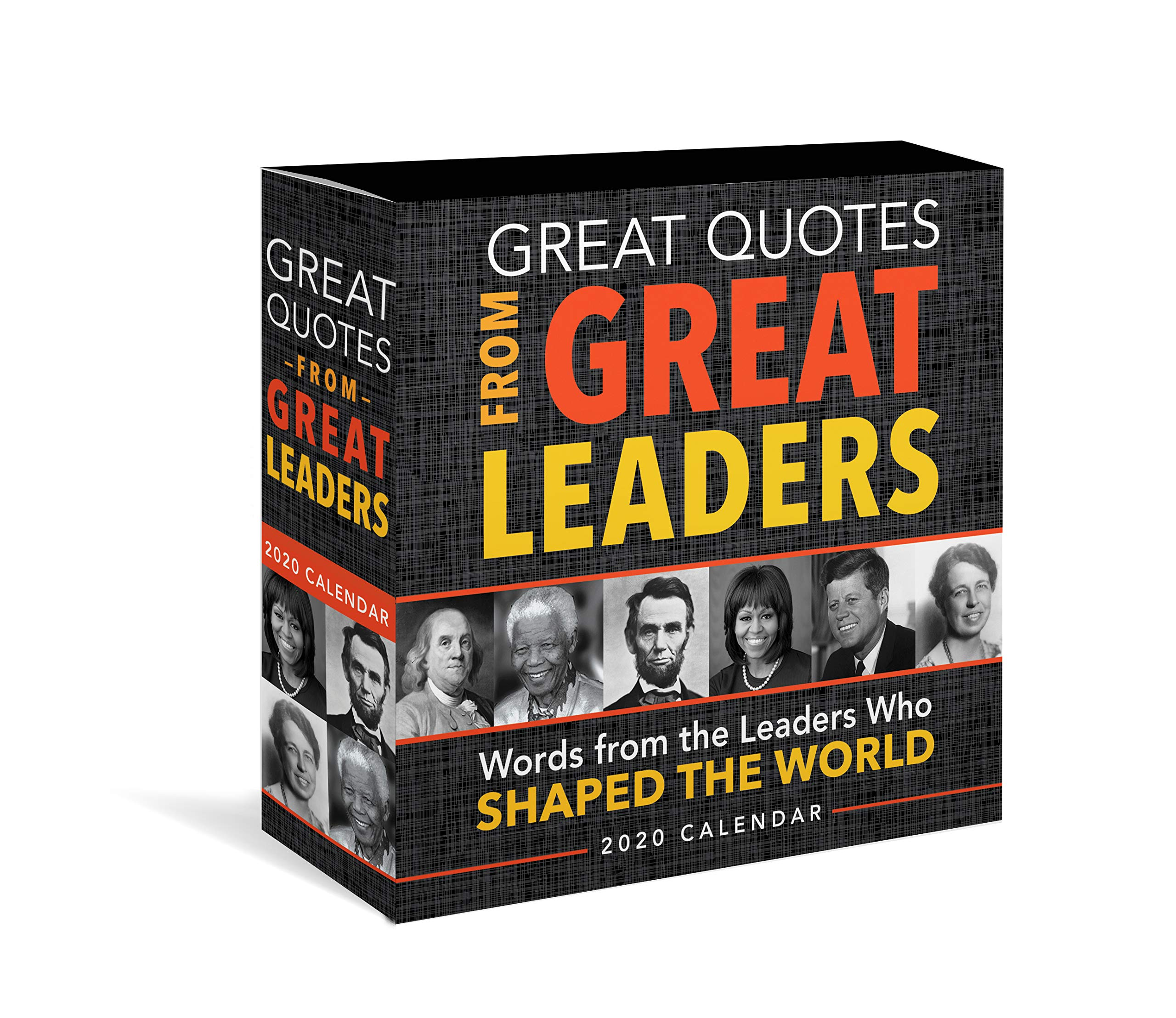2020 Great Quotes from Great Leaders Boxed Calendar