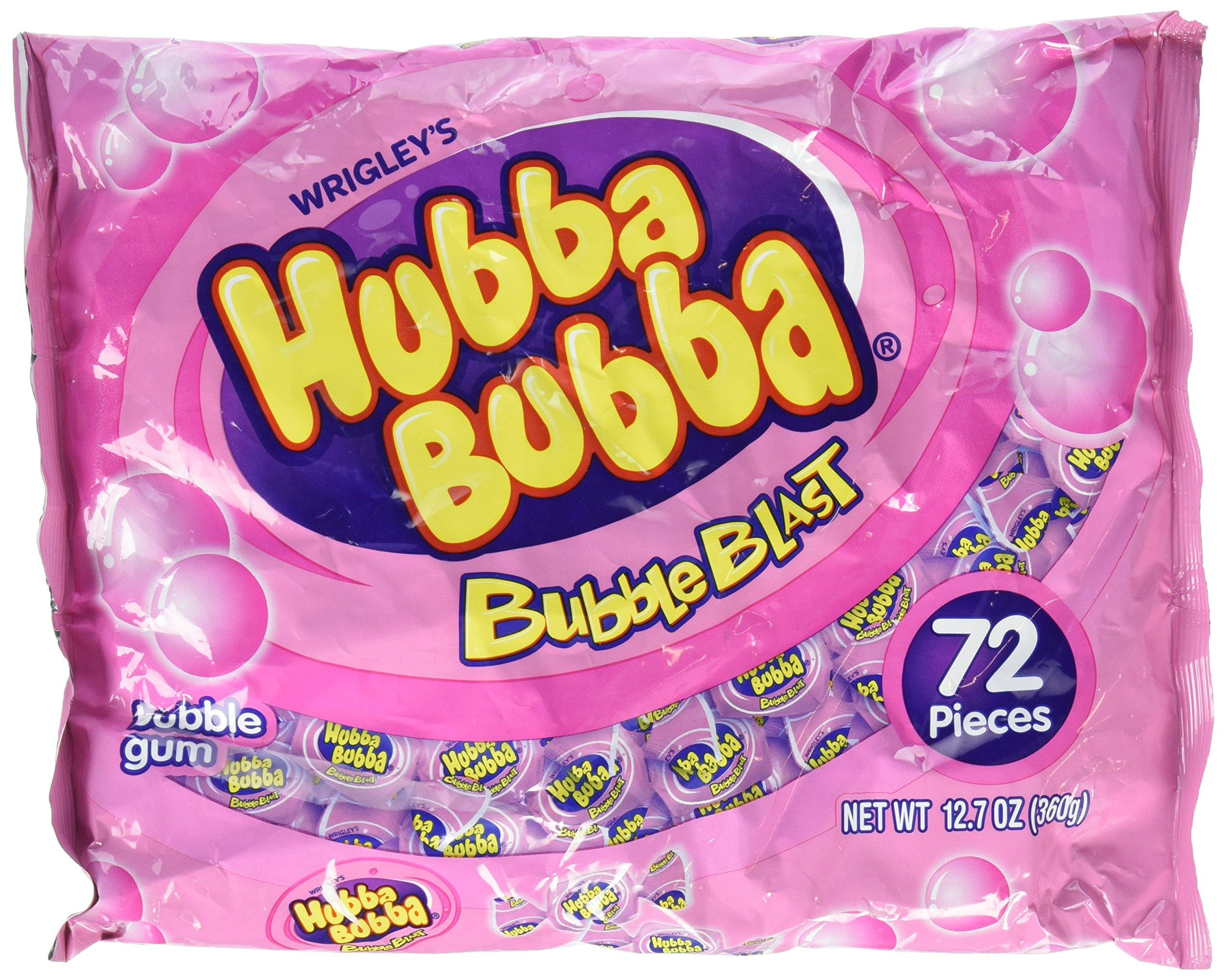 Hubba Bubba Bubble Gum Bubble Blast 72 Ct