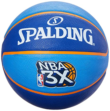 Spalding - TF?33 NBA 3 x Size 6 Rubber Basketball Rubber 6: Amazon ...
