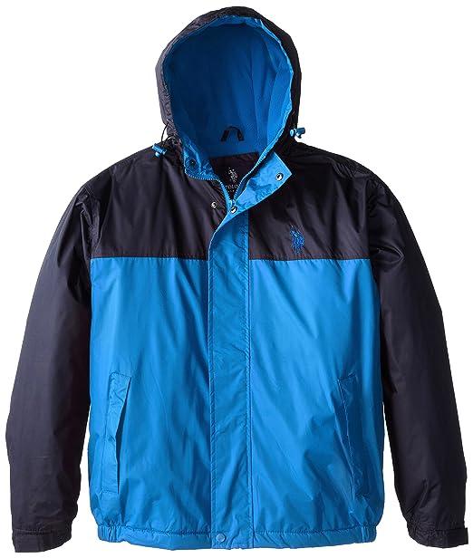 Amazon.com: U.S. Polo Assn. – Chaqueta color block Coat con ...
