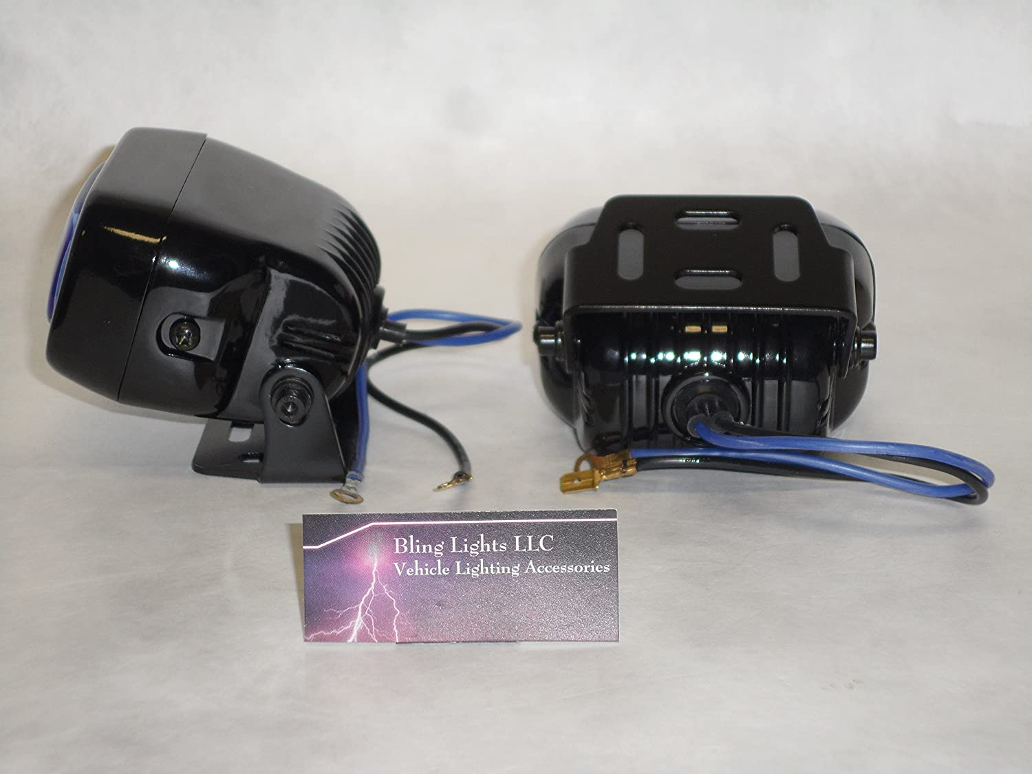 Bmw K1200s K1300s 6000k Hella Micro Driving Lamps Kit Wire Harness Automotive