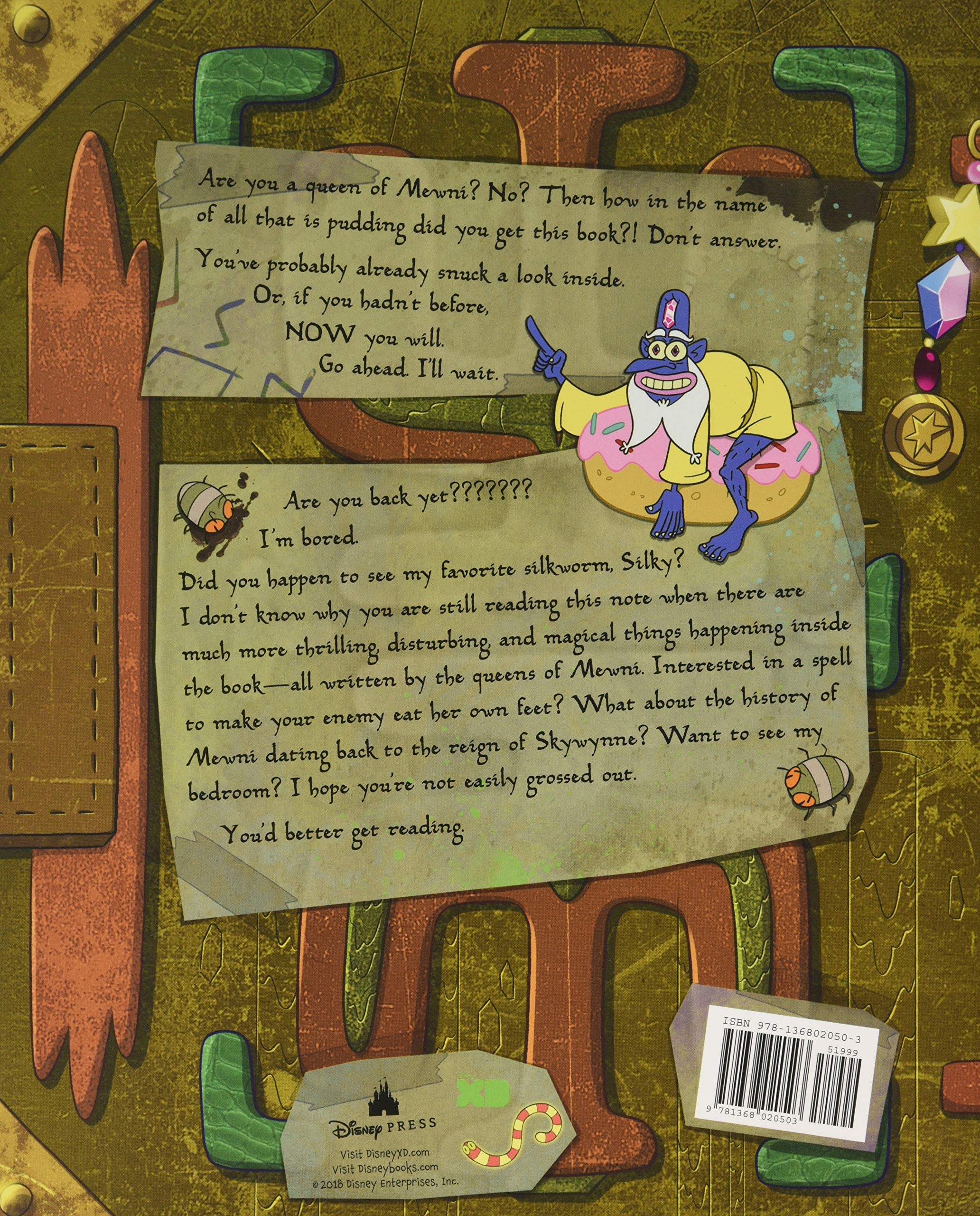 Star vs  the Forces of Evil The Magic Book of Spells: Daron