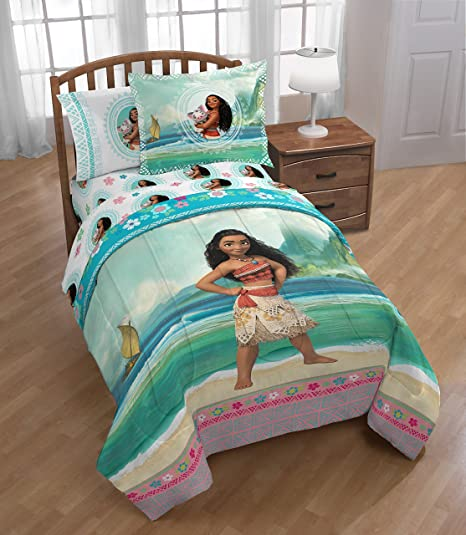 DISNEY FAVORITES BED IN A BAG COMFORTER BED SET WITH FITTED SHEET KIDS TEENS