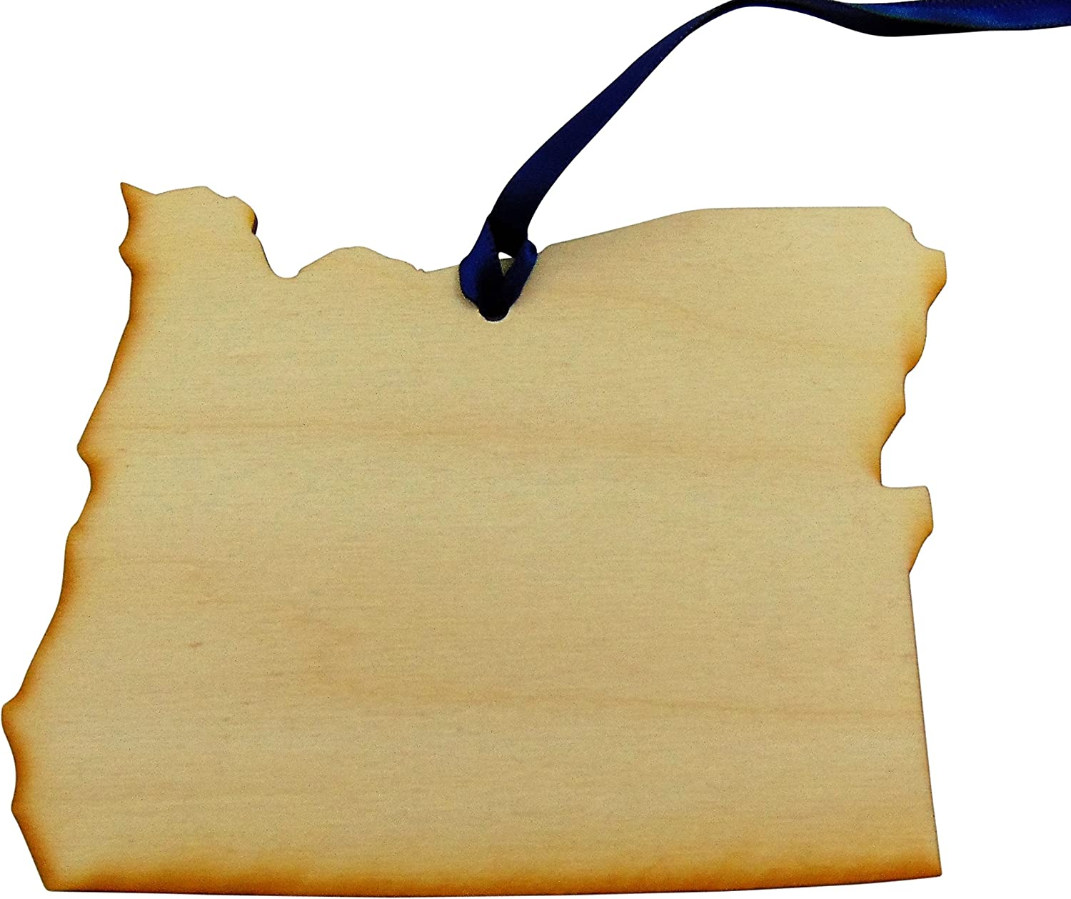 Westman Works Oregon Wooden Christmas Ornament Tree Decoration Handmade in The USA