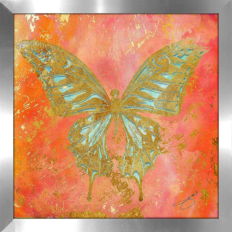 Picture Perfect InternationalButterfly by by Jodi Framed Plexiglass Wall Art