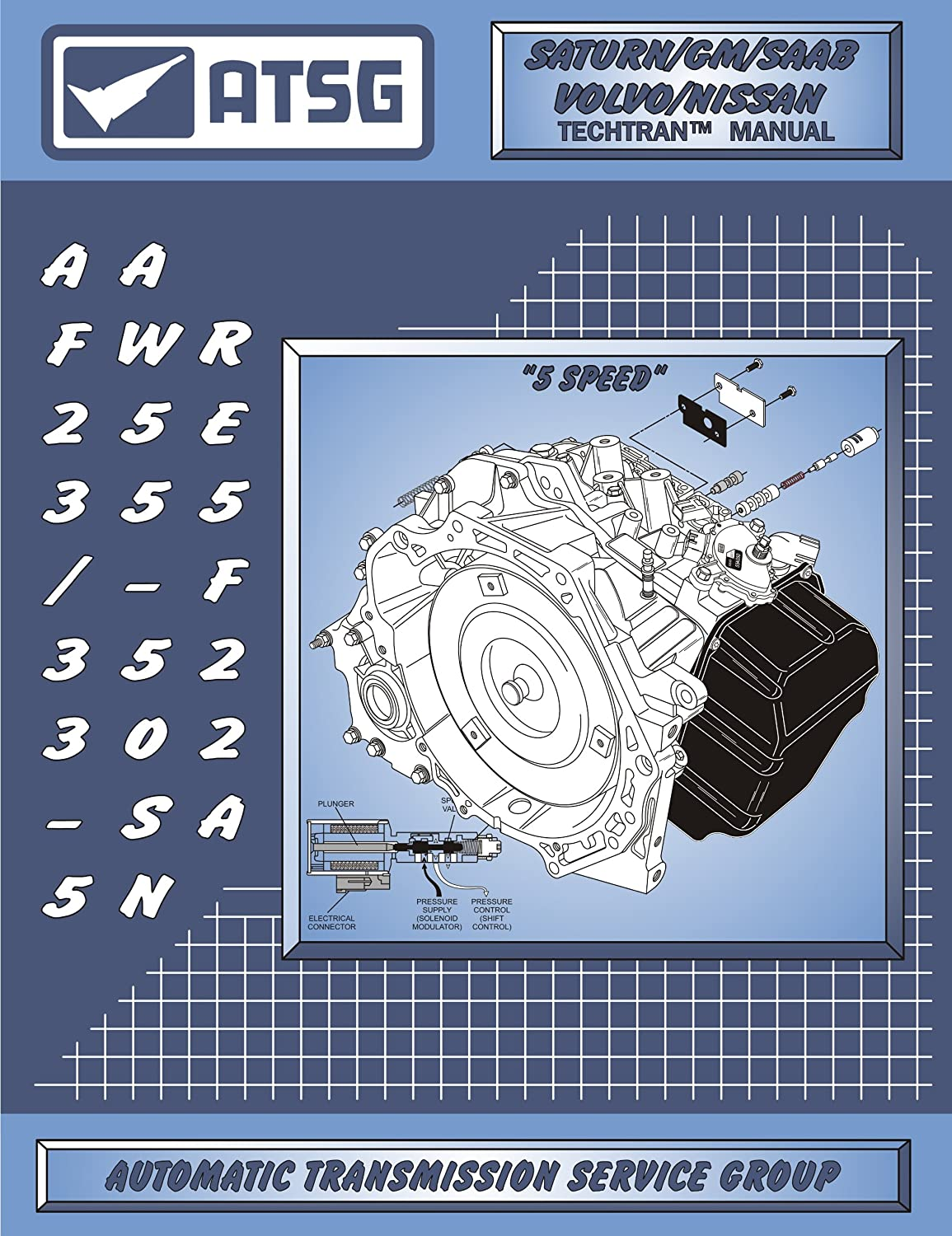 Amazon.com: ATSG AW55-50/51SN/AF23/33-5/RE5F22A Automatic Transmission Repair  Manual (AW55-50SN - AW55-50SN Valve Body - Best Repair Book Available!):