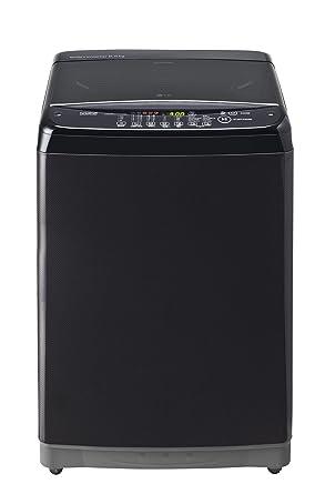 LG 6.5 kg Fully-Automatic Top Loading Washing Machine (T7581NEDLK, Black Knight)