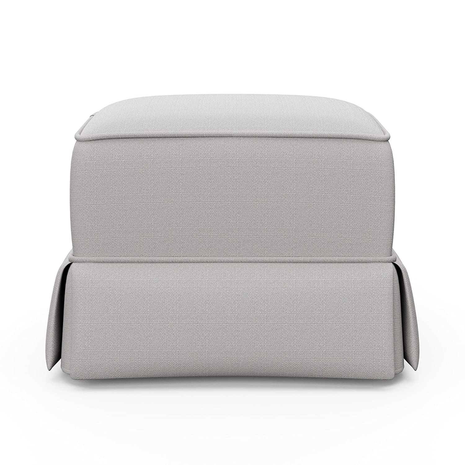 Storkcraft Avalon Upholstered Ottoman, Midnight Gray 06562-52U