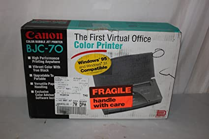Canon BJC-70 Printer Drivers Download