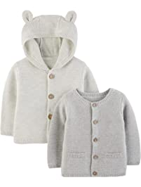Simple Joys by Carter s Baby 2-Pack Knit Cardigan Sweaters f8a9244419c