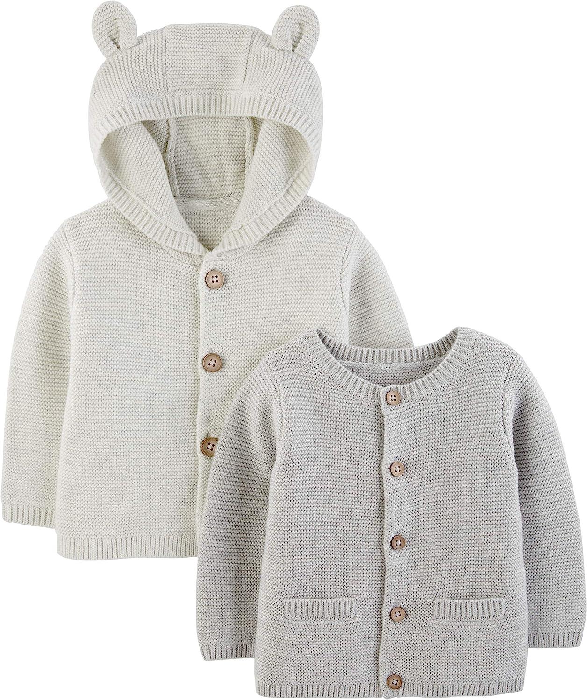 Cardigan lavorato a maglia Simple Joys by Carters confezione da 2