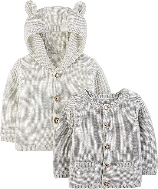 Simple Joys by Carters Baby Lot de 2 cardigans tricot/és