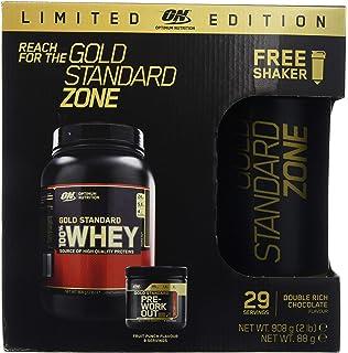 Optimum Nutrition Gold Standard Zone - Paquete para Antes y Después del Entrenamiento con Oferta de