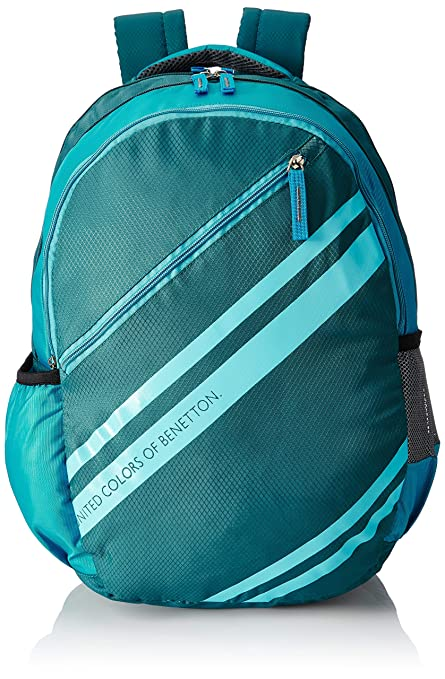 1d2ebd2fa8d United Colors of Benetton 34 Ltrs Green School Backpack (0IP6SCHBPTS5I):  Amazon.in: Bags, Wallets & Luggage